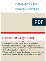 Glucose Challenge Test