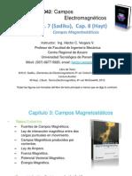 CEM4042 Cap 3 - El Campo Magnetico Estático (Magnetostática