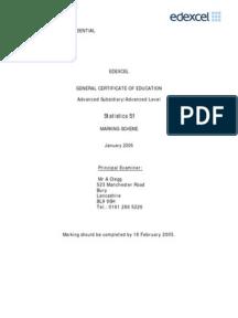 c1 jan 2006 markscheme Mark scheme (results) january 2009 gce gce mathematics (6663/01) edexcel limited 6663 core mathematics c1 mark scheme.