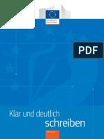 Klar Und Deutlich Schreiben_Commission Eur Bruxelles