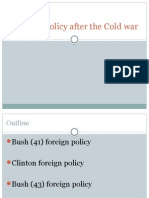 US Foreign Policy After the Cold War (2)