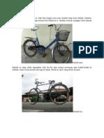 Jenis basikal
