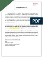 Case Study SCM the Intelligent Route to BI.docx