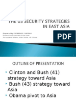 US Security Strategy in East Asia