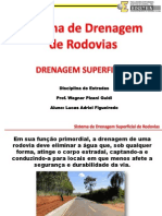 Slides - Sistema Drenagem Superficial