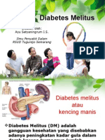 Penyuluhan Diabetes Melitus