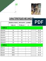 Caractéristiques Mécaniques Des Fontes GJS Et GJL