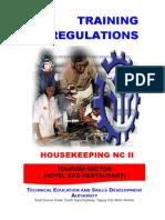 TR - Housekeeping NC II.doc