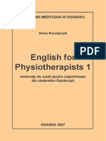 English for Physiotherapists 2007 - A.kuciejczyk