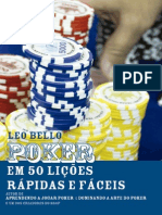 Poker Em 50 Licoes Rapidas e Fa - Leo Bello