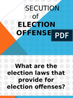 Prosecution of Election Offenses