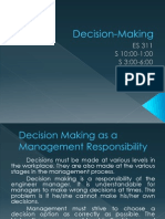Lesson 2 Decision Making