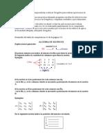 Algebra de Matrices Taller Geogebra