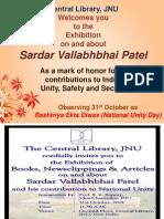 Sardar Vallabbhai Patel