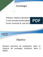 3.6 Revisao Dos Classicos Da Sociologia.