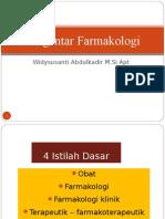 (2) PENGANTAR FARMAKOLOGI