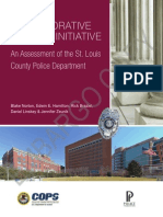 DOJ - STL County Police Ferguson Report