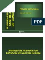 Interação Da Alvenaria Com Estruturas de Concreto Armado