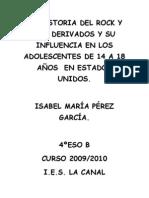 LA HISTORIA DEL ROCK Y SUS DERIVADOS Y SU INFLUENCIA EN LOS ADOLESCENTES DE 14 A 18 AÑOS  EN ESTADOS UNIDOS.do