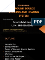 Ground Source Cooling and Heating System @Scribd