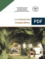 Proyecto Minero La Conquistada