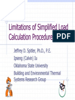 Limitations Simplified LC Montreal ASHRAE Chapter 6Oct03