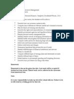 resource management syllabus