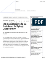 all kids deserve to be safe from bullying  jakes story - nea today