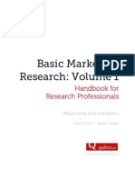 Basic Marketing Researh Vol 1
