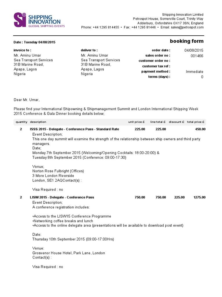 SalesOrder 20150804 142848 | Credit Card | Invoice