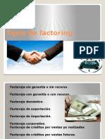 Tipos de Factoring