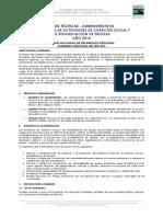 Bases Subvencion Social y Rehabilitacion de Drogas Fndr 2014