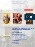 El proceso de la Independencia de Chile.ppt