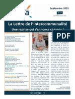 Lettre d'Information Septembre 2015