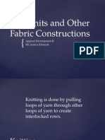 1.02 Knits and Other Fab. Constructions