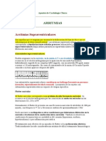 Apuntes de Cardiología Clínica - ARRITMIAS