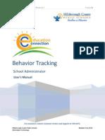 behavior tracker for minor incendences
