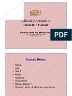 Clinical Approach to Obstetric Patient