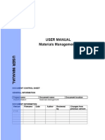 Mm User Manual