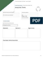 Written Document Analysis Worksheet
