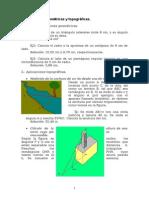 Aplicaciones Geométricas y Topográficas