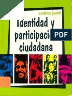 Identidad y Participación Ciudadana