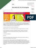 Curso Diseño Gráfico Inicio 22, 23 y 24 de Agosto de 2015
