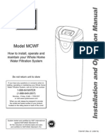Manual Mcwf Central Water