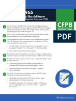 CFPB Cheat Sheet