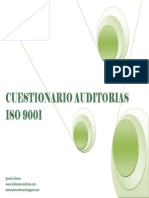 Check List Cuestionario Auditoria