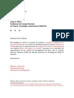 Modelo Carta Postulacion