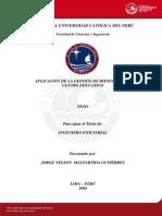Malpartida Gutierrez Jorge Gestion Riesgos Centro Educativo