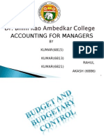 Budgets(CHITRAK)