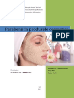 Parabenii in Produse Cosmetice